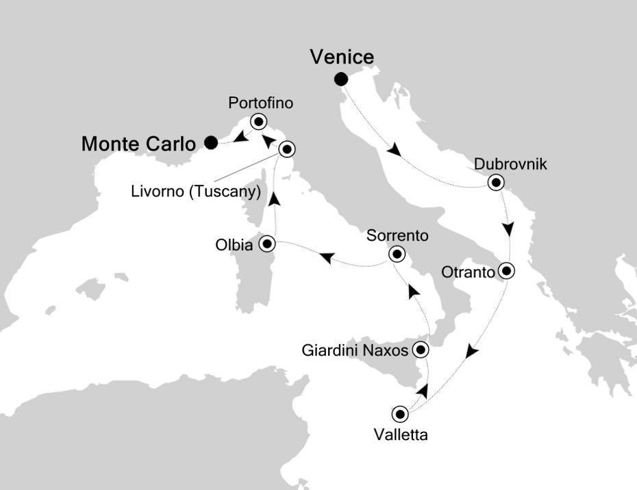 4914 - Venice to Monte Carlo
