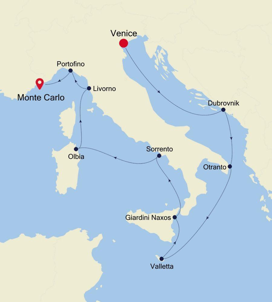 4914 - Venice a Monte Carlo