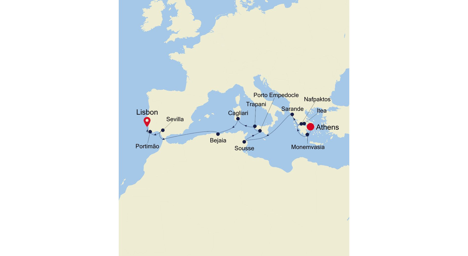 E4210602014 - Piraeus to Lisbon