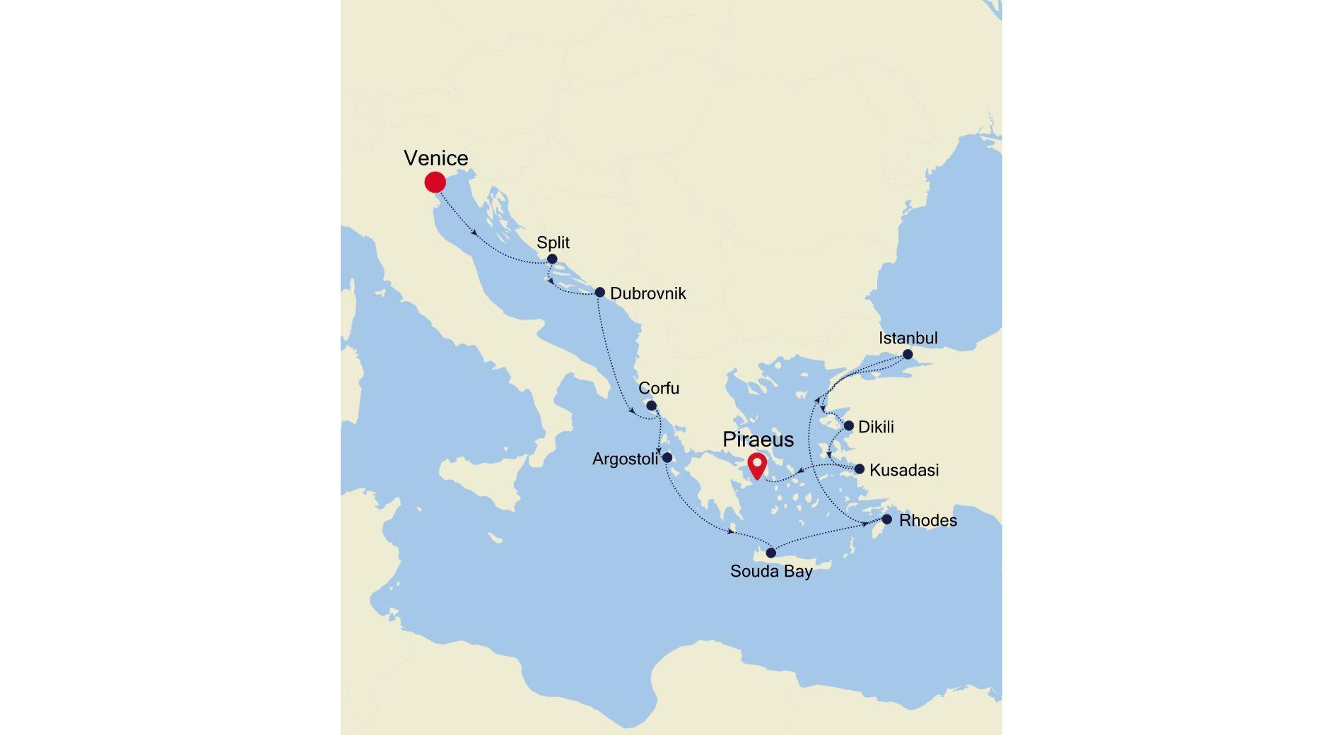 DA211001012 - Venice à Piraeus