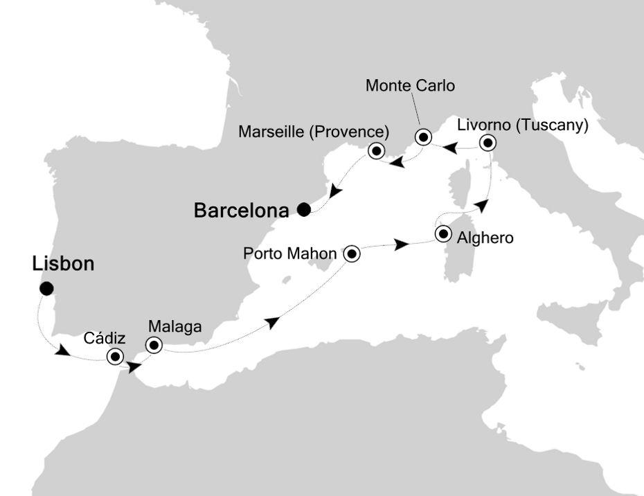 5911 - Lisbon a Barcelona
