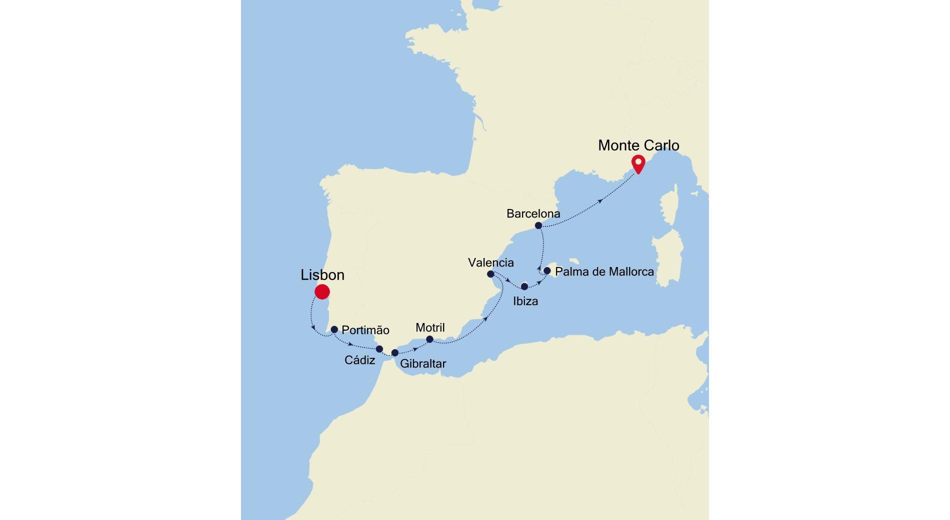 3923 - Lisbon a Monte Carlo