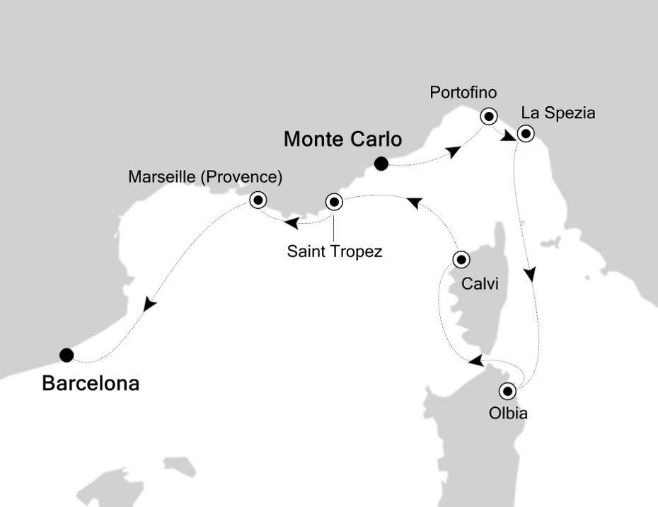 3924 - Monte Carlo nach Barcelona