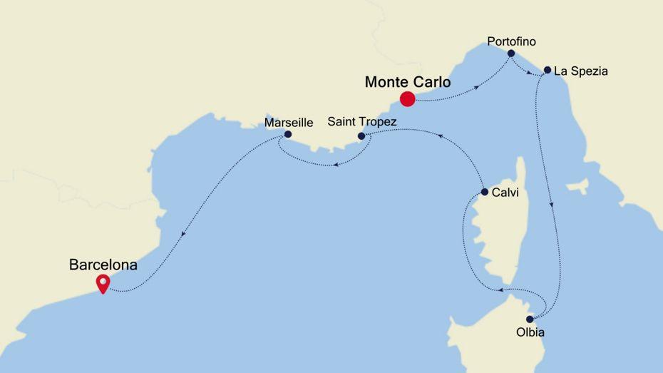 3924 - Monte Carlo to Barcelona