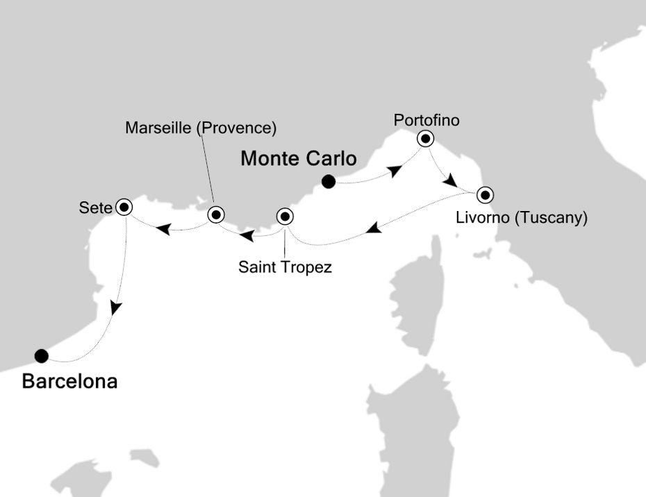 4922 - Monte Carlo to Barcelona