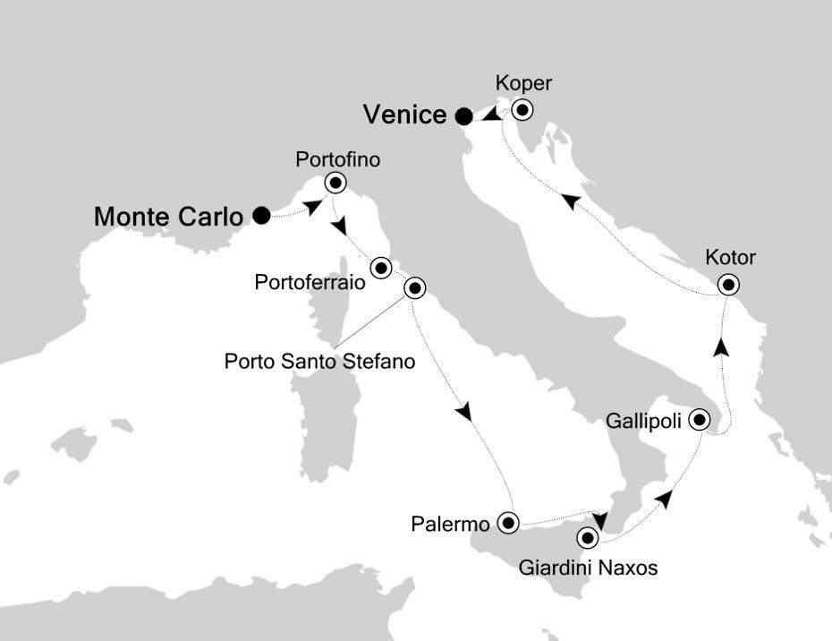 3916 - Monte Carlo à Venice