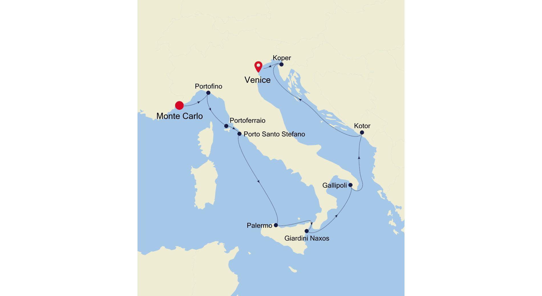 3916 - Monte Carlo to Venice