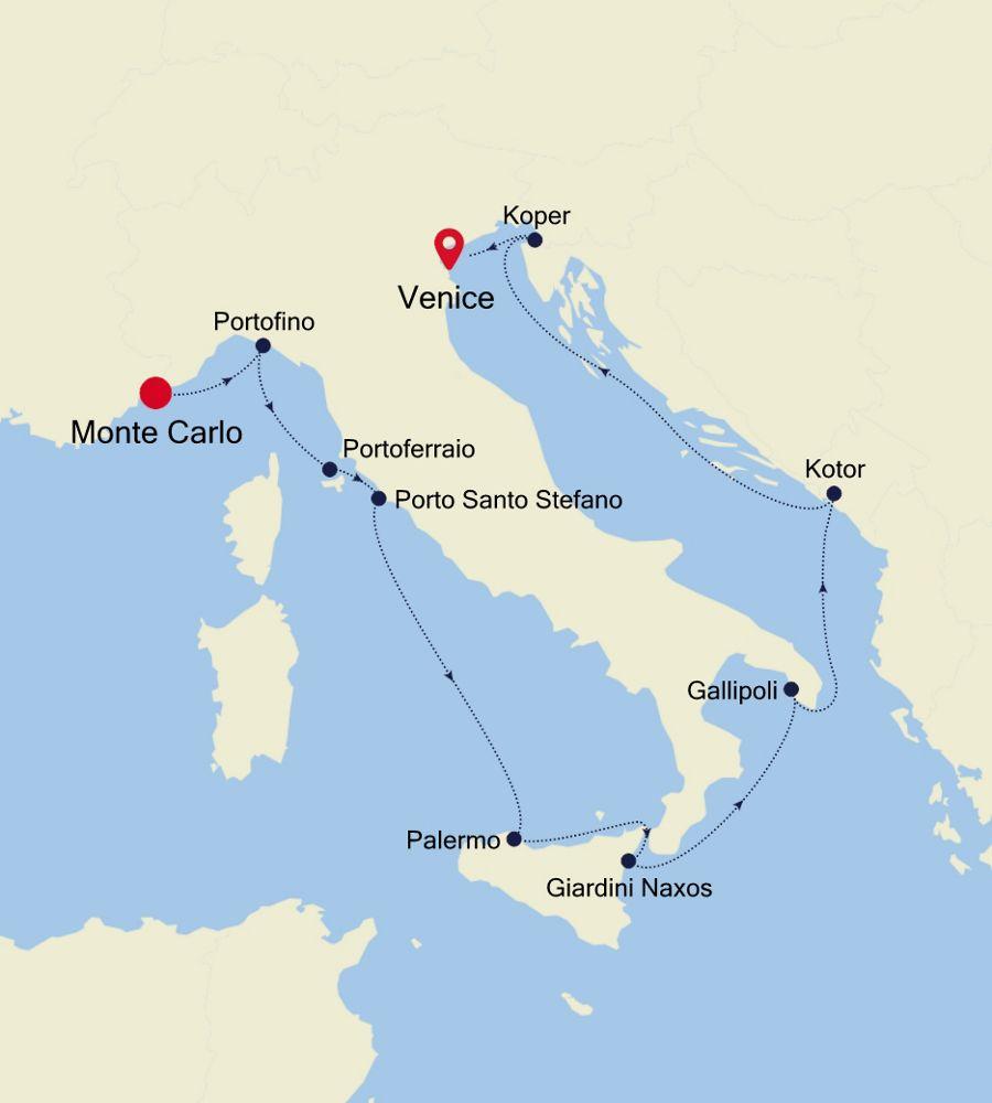 3916 - Monte Carlo a Venice
