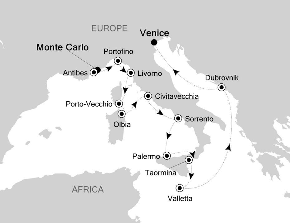 4810 - Monte Carlo to Venice