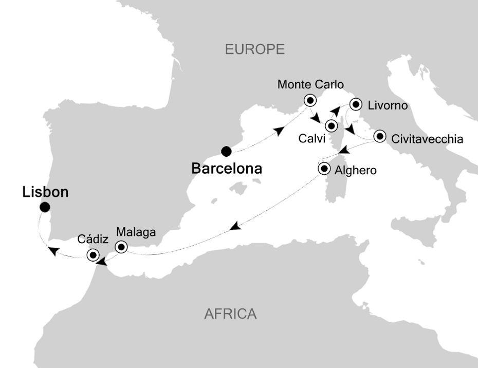 MO200824010 - Barcelona à Lisbon