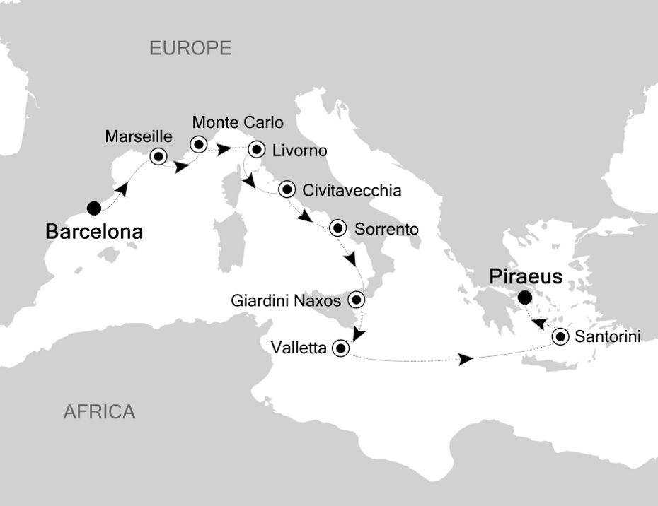 MO200912011 - Barcelona nach Piraeus
