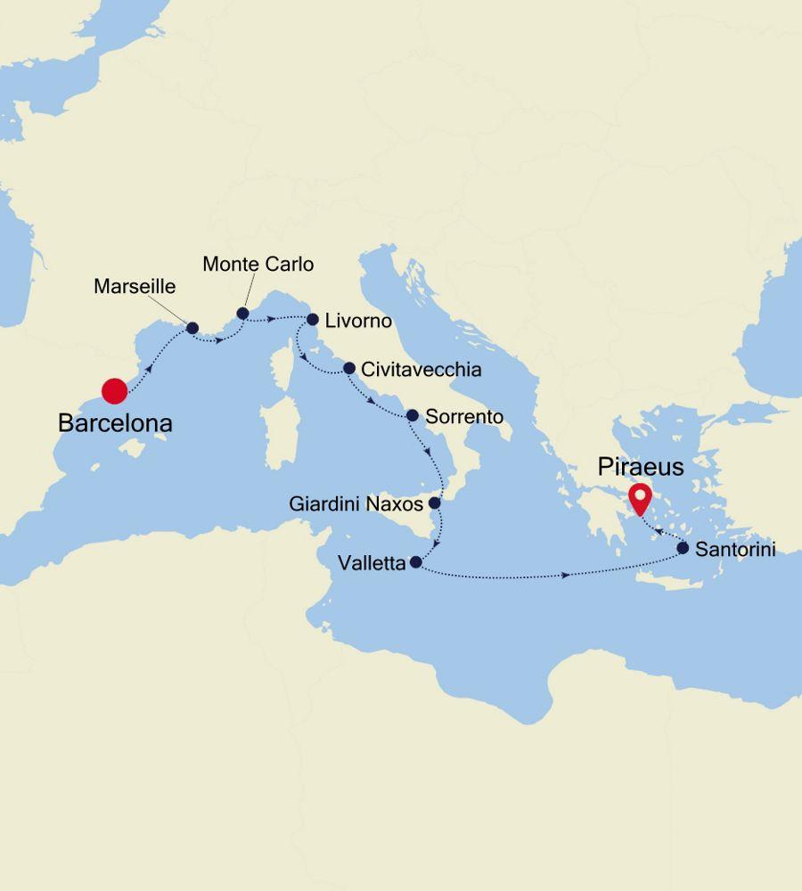 MO200912011 - Barcelona to Piraeus