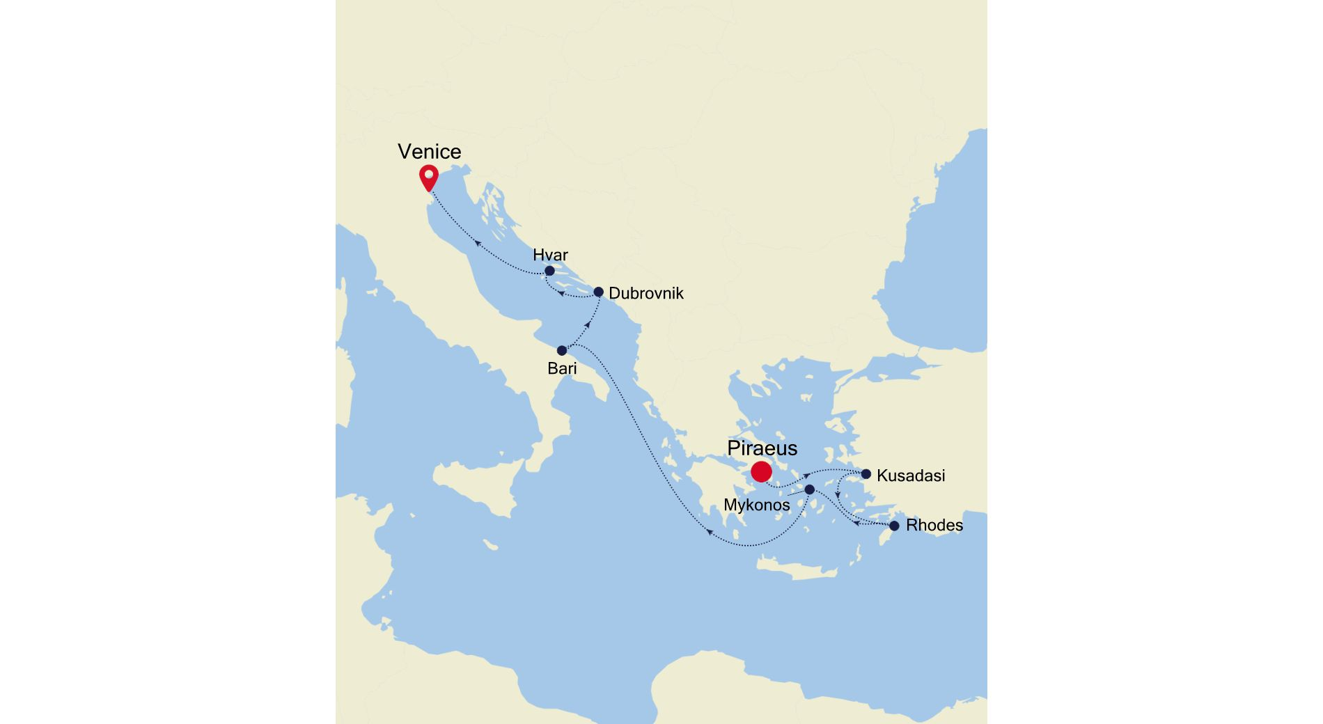 MO200923009 - Piraeus a Venice