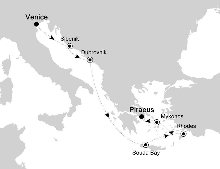 MO201012007 - Venice a Piraeus