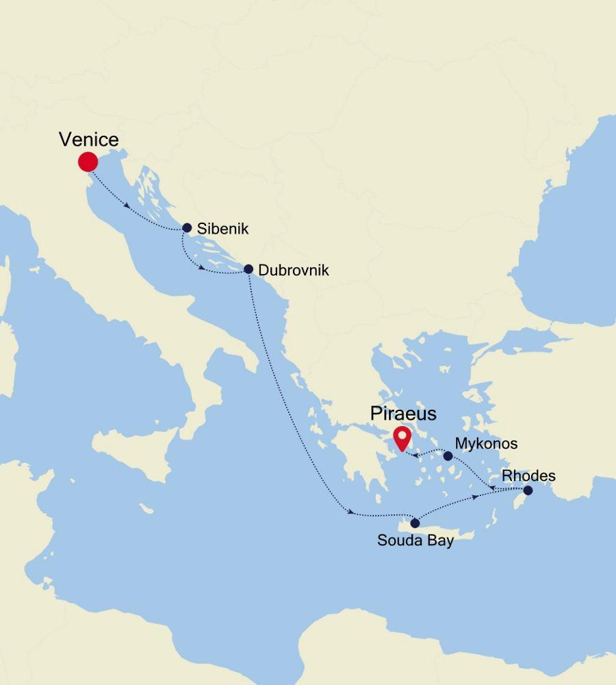 MO201012007 - Venice nach Piraeus
