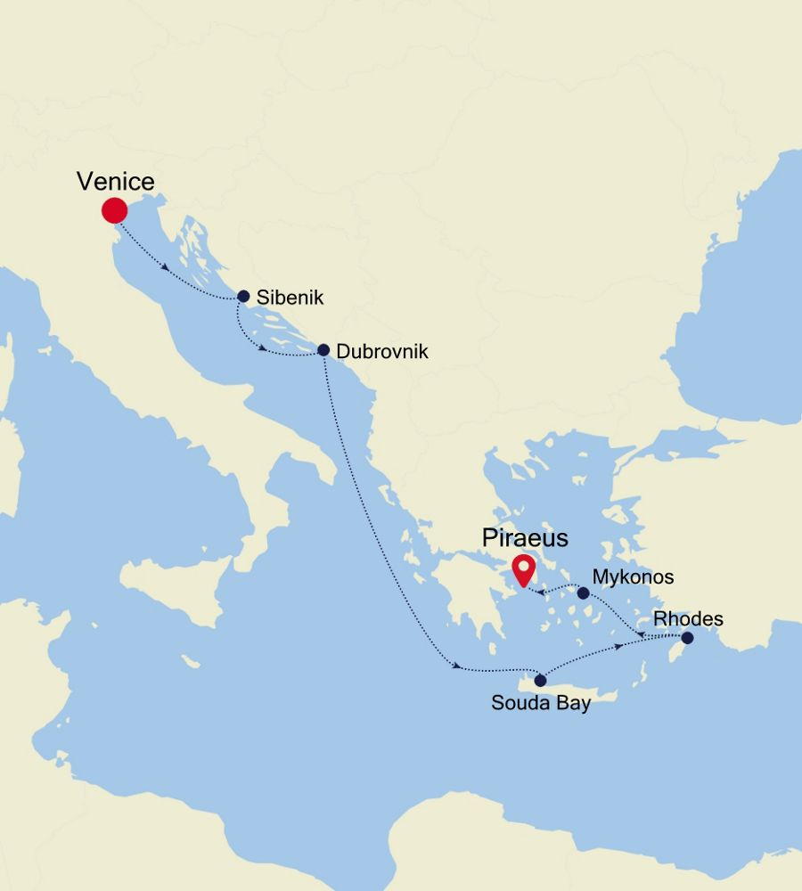 MO201012007 - Venice to Piraeus