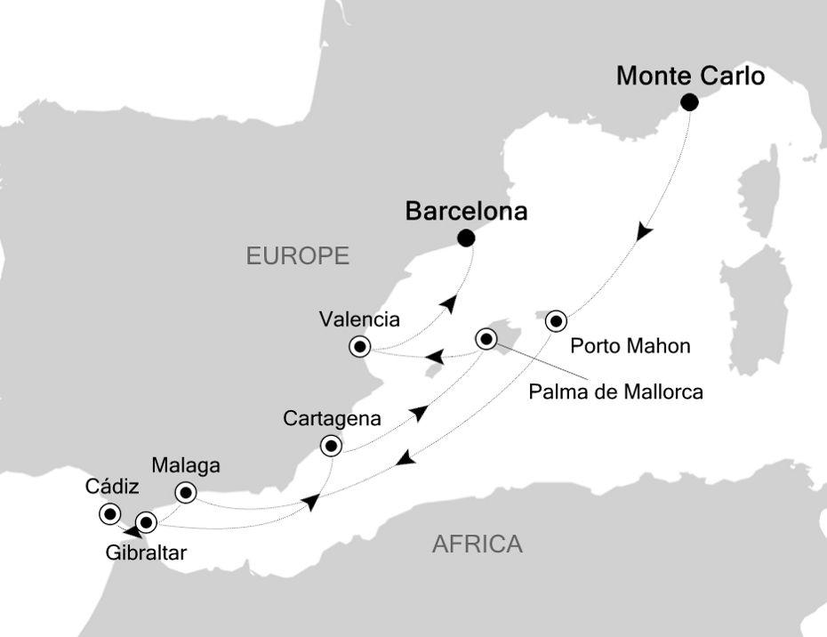 MO201030009 - Barcelona to Barcelona