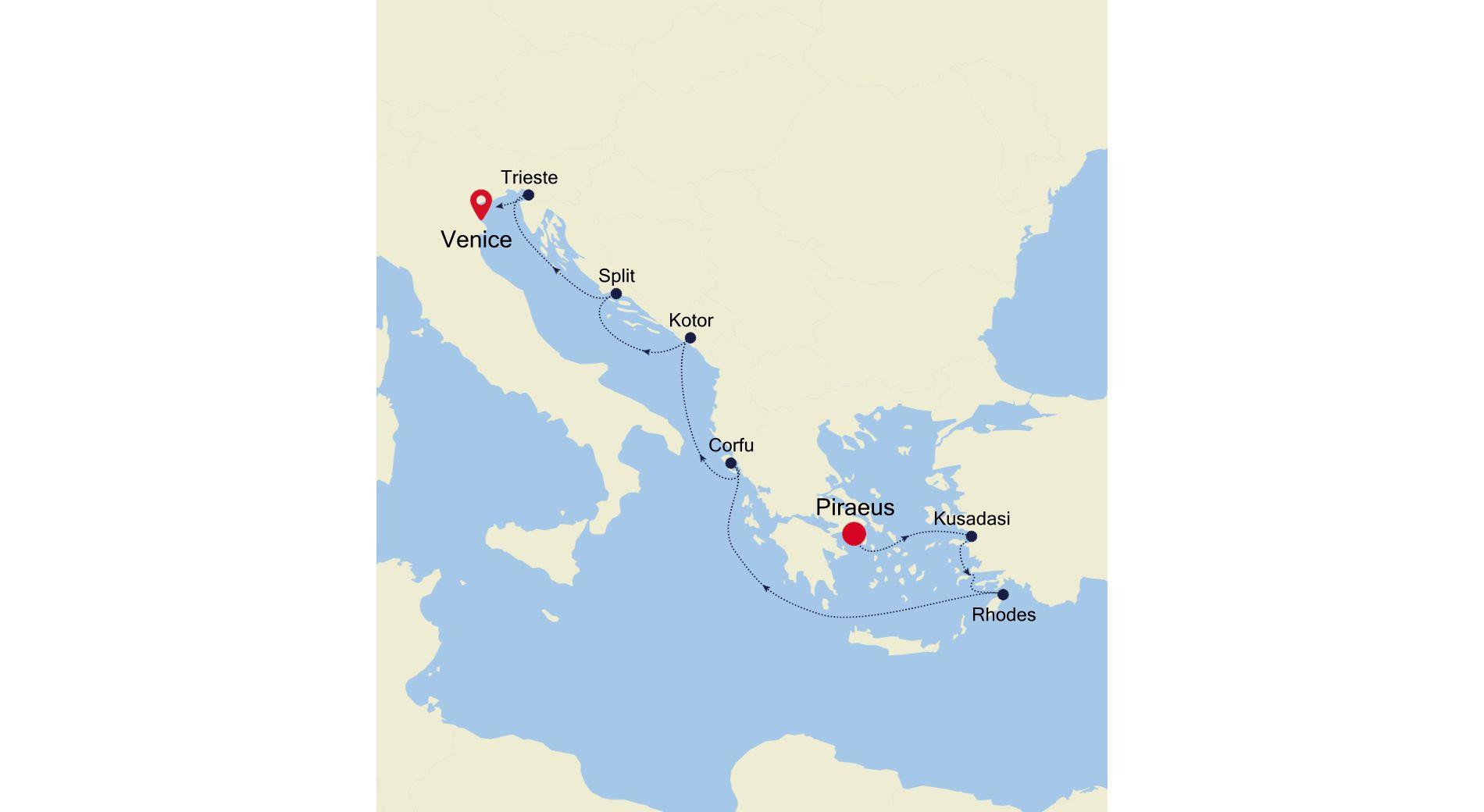 MO210413009 - Piraeus to Venice