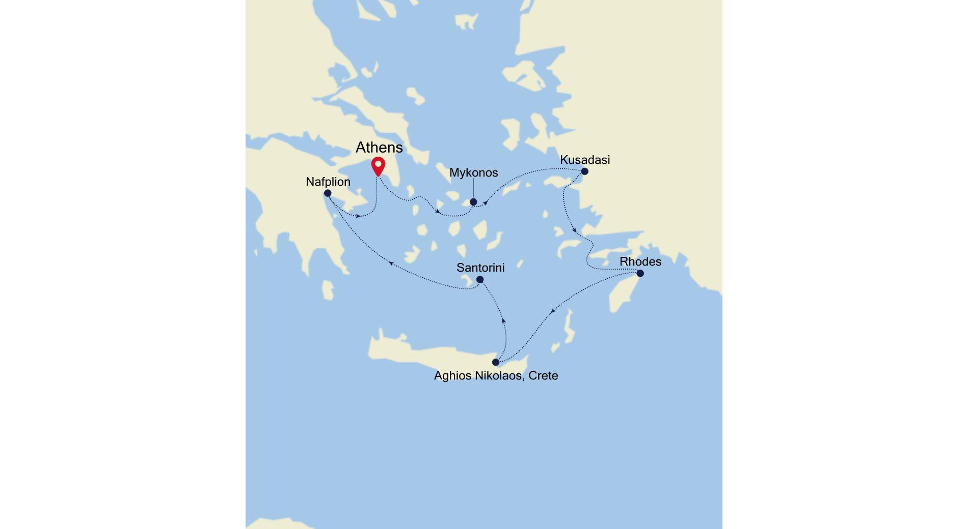 MO210504007 - Piraeus nach Piraeus