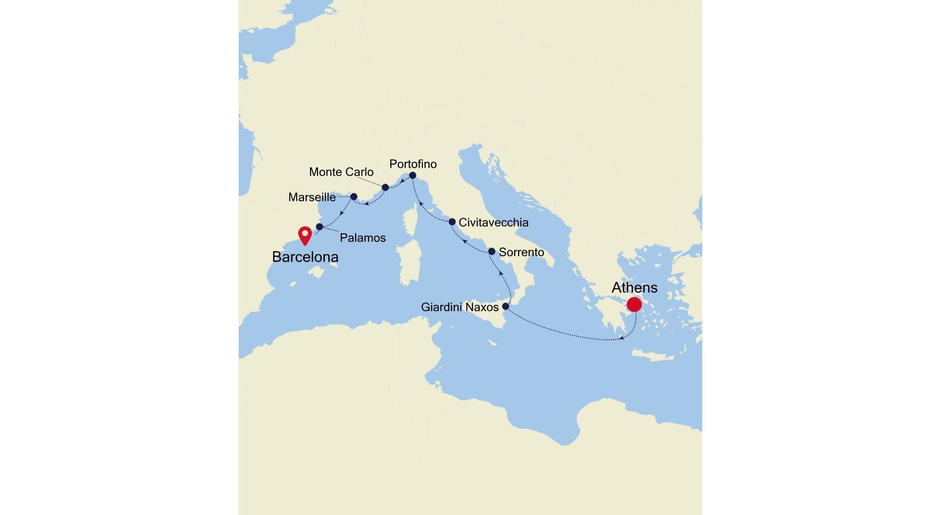 MO210522009 - Athens to Barcelona