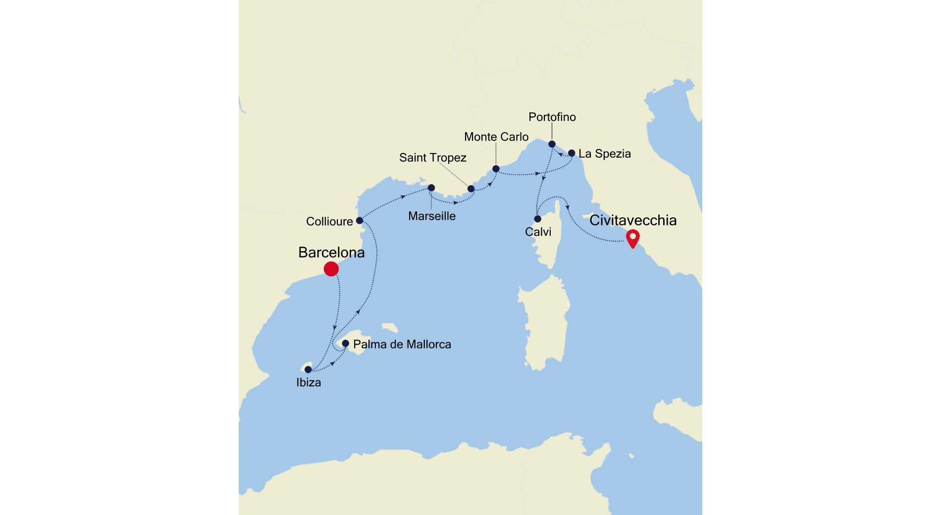 MO210716010 - Barcelona nach Civitavecchia