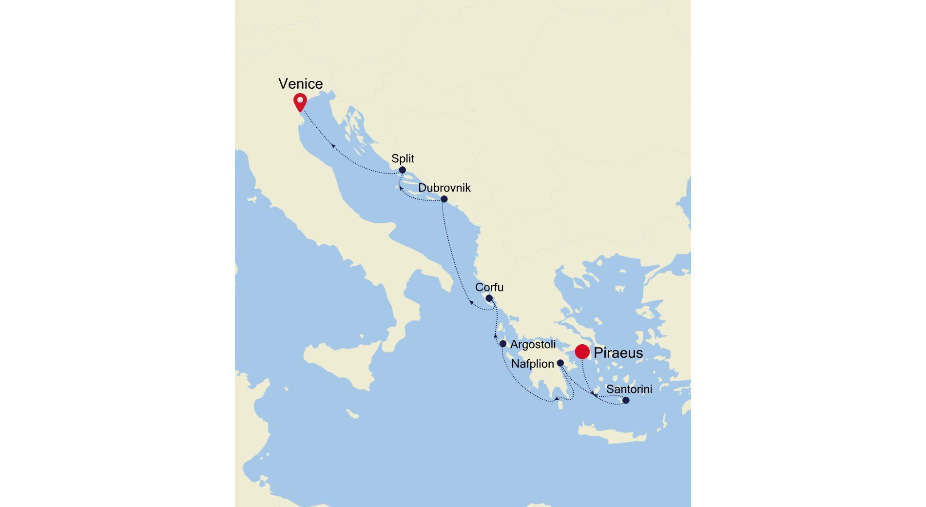 MO210923007 - Athens a Venice