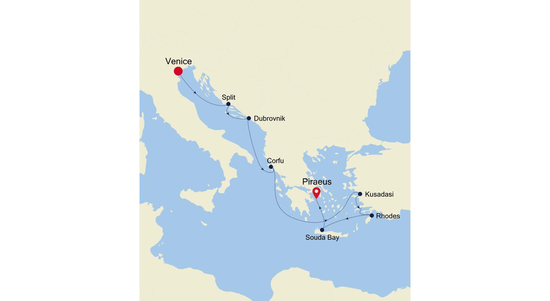 MO211014009 - Venice à Athens