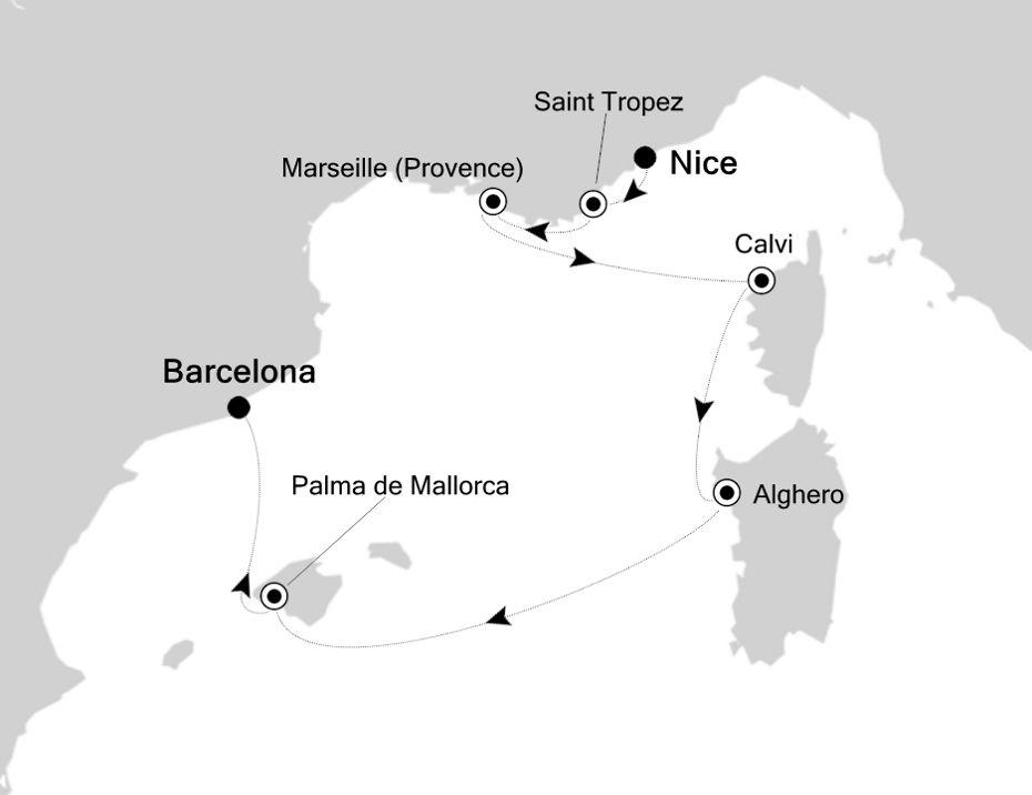 4817 - Nice a Barcelona