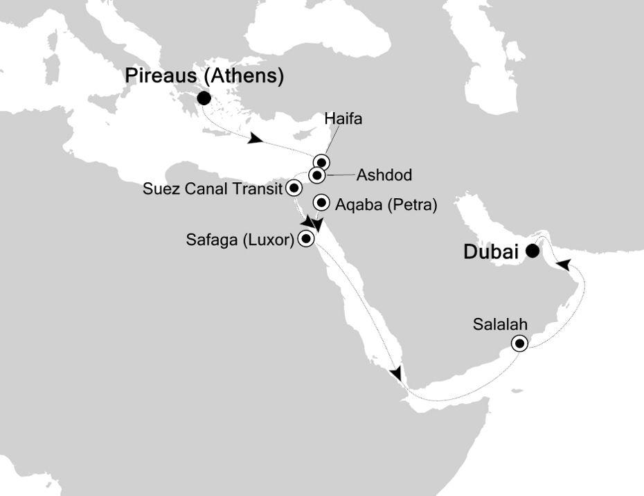 5932 - Piraeus a Dubai