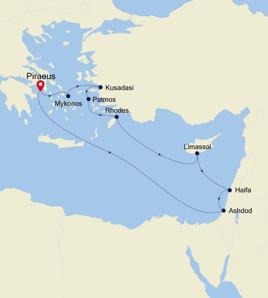 3930 - Piraeus to Piraeus