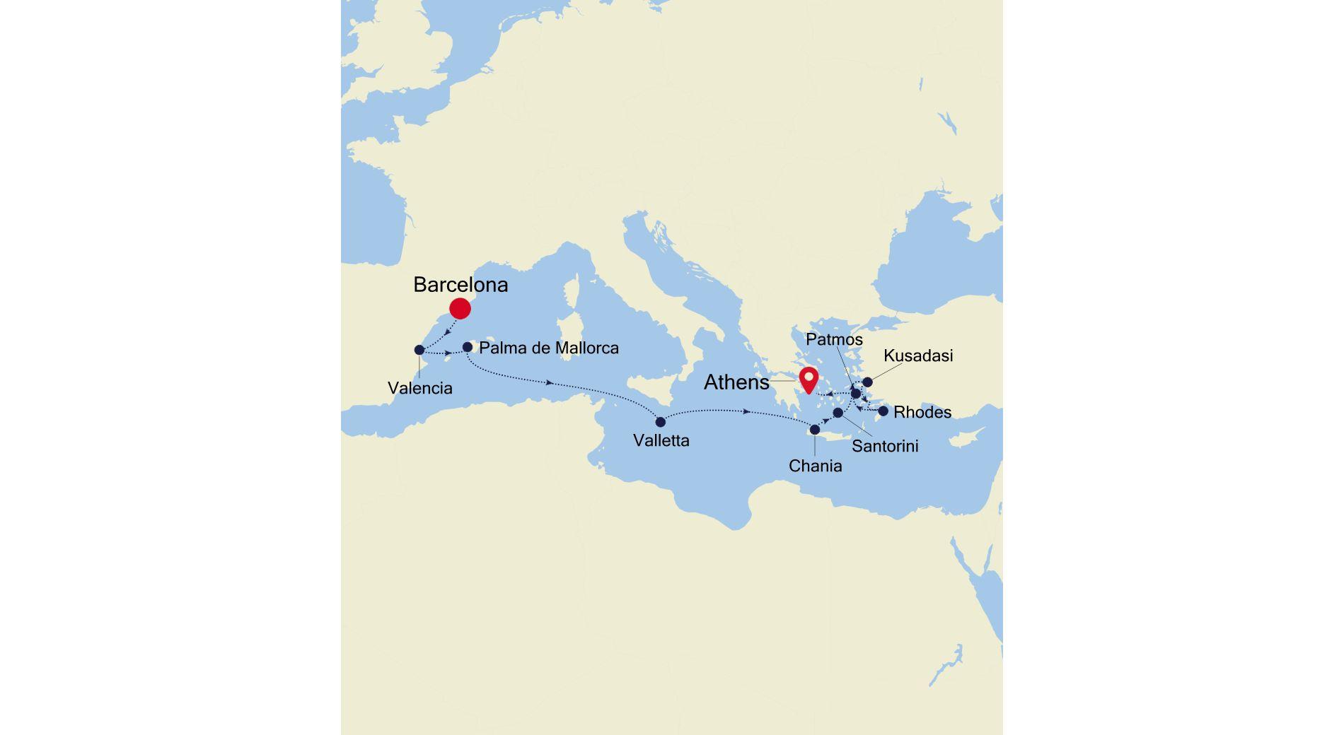 SS200503011 - Barcelona nach Venice