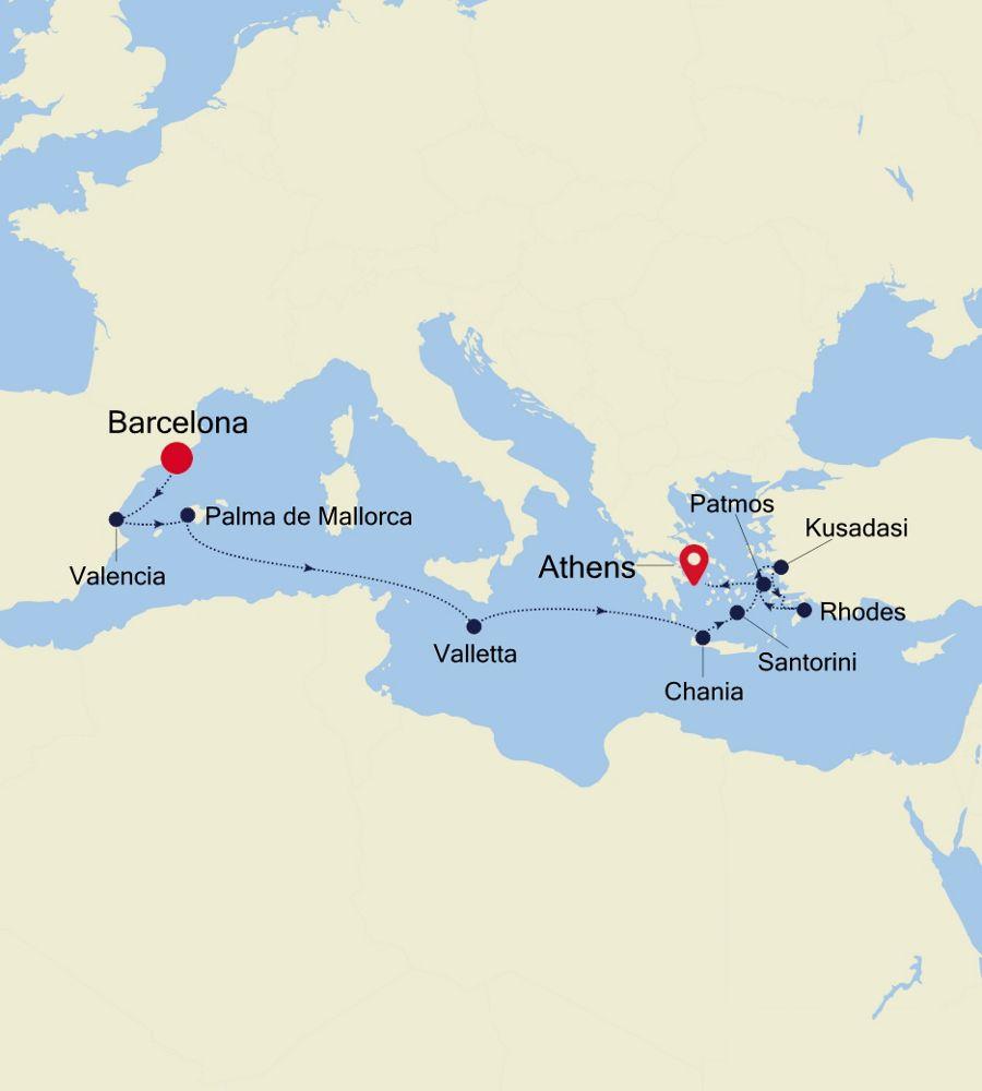 SS200503011 - Barcelona a Venice