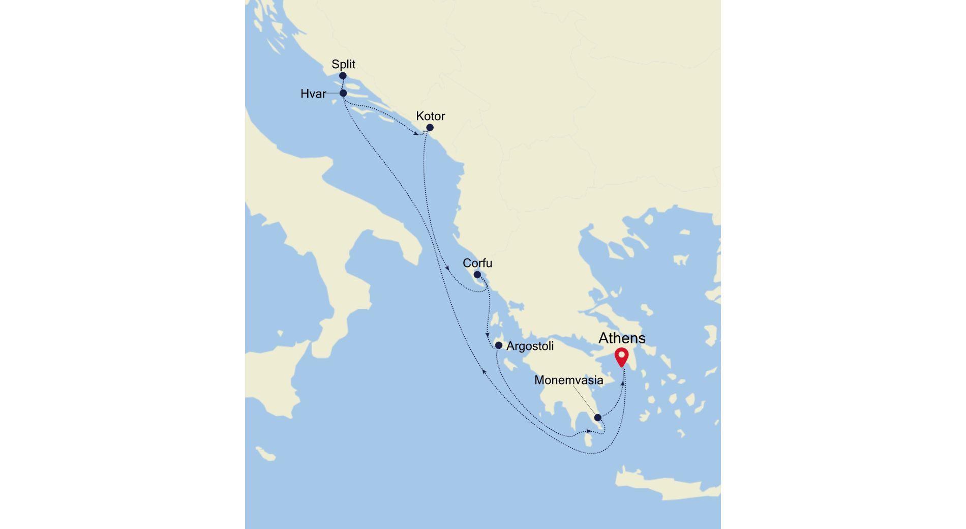 SS200514009 - Venice to Piraeus