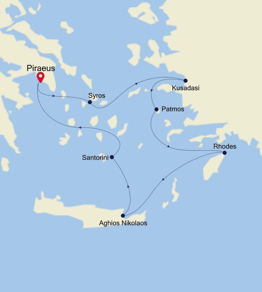 SS200523007 - Piraeus to Piraeus
