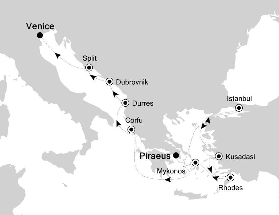 SS200530013 - Piraeus à Venice