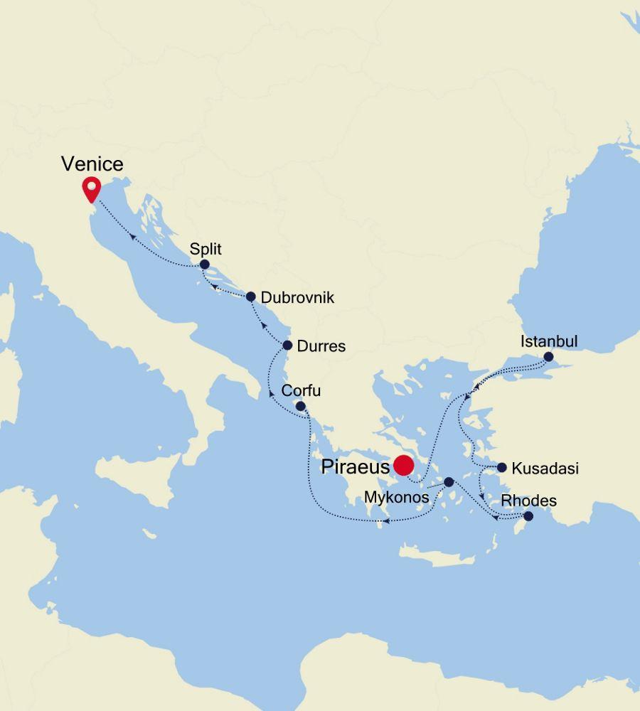 SS200530013 - Piraeus to Venice