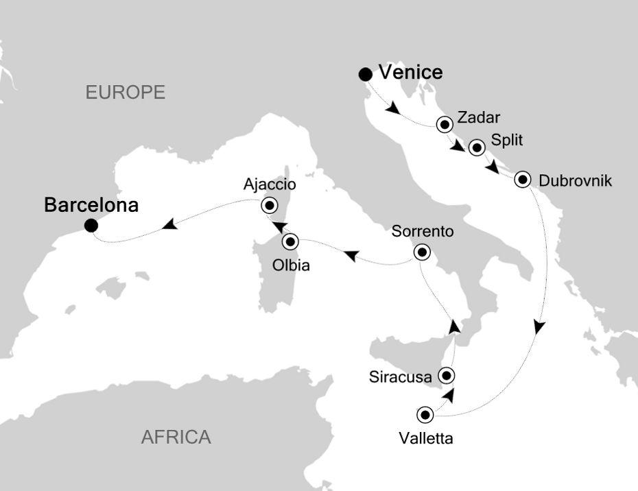 SS200618012 - Venice a Barcelona