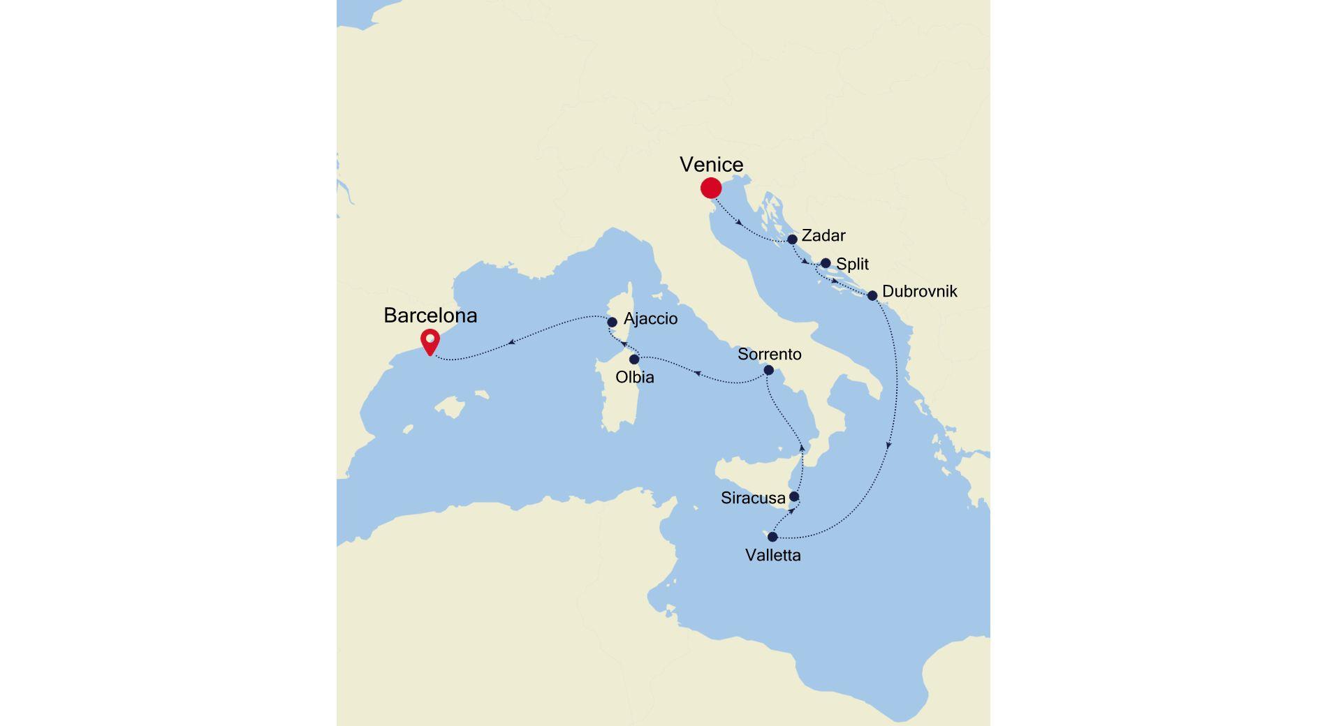 SS200618012 - Venice à Barcelona