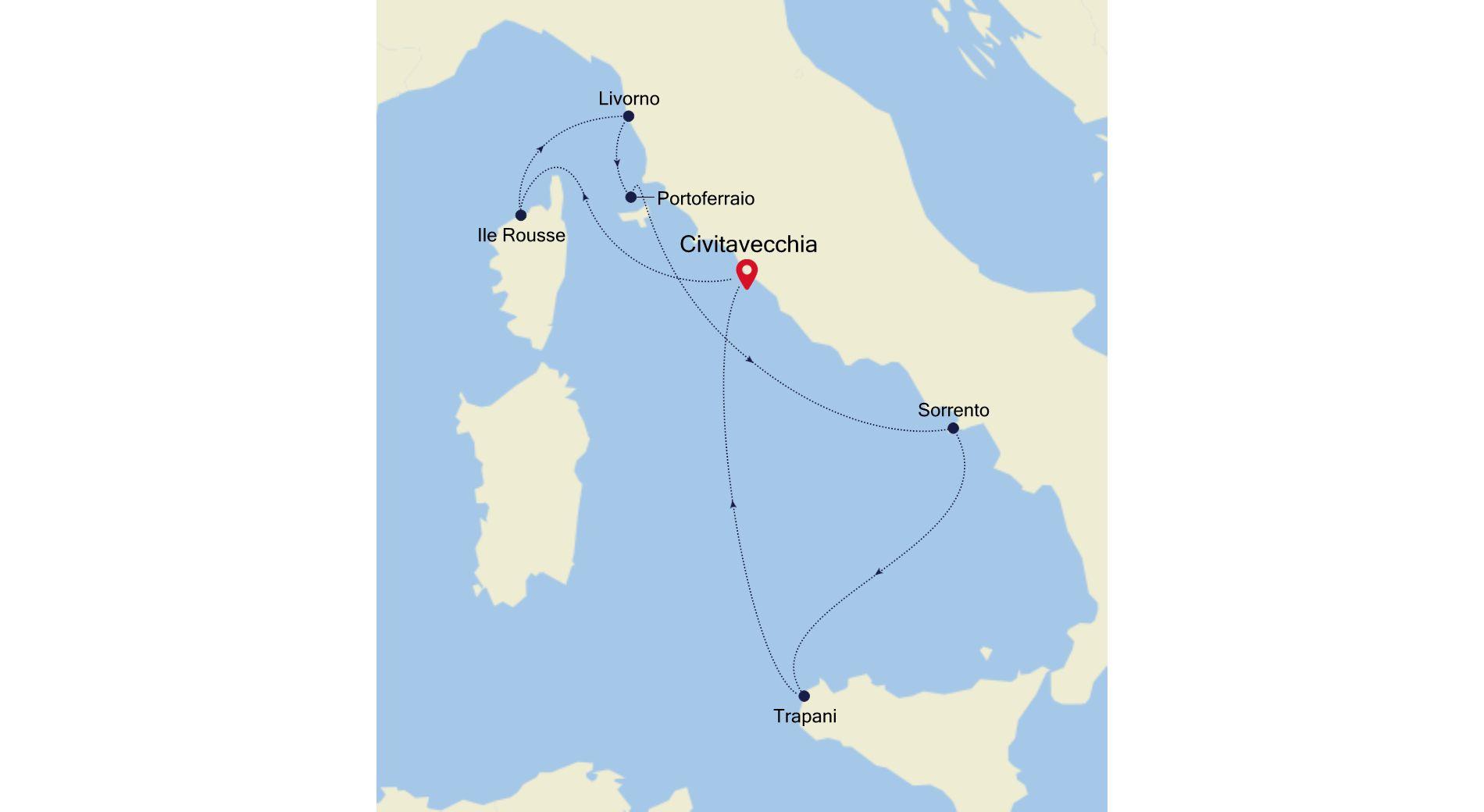 SS200703007 - Civitavecchia nach Civitavecchia
