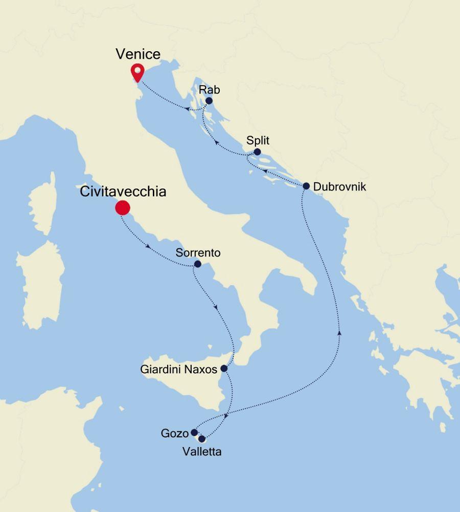 SS200707010 - Civitavecchia à Venice