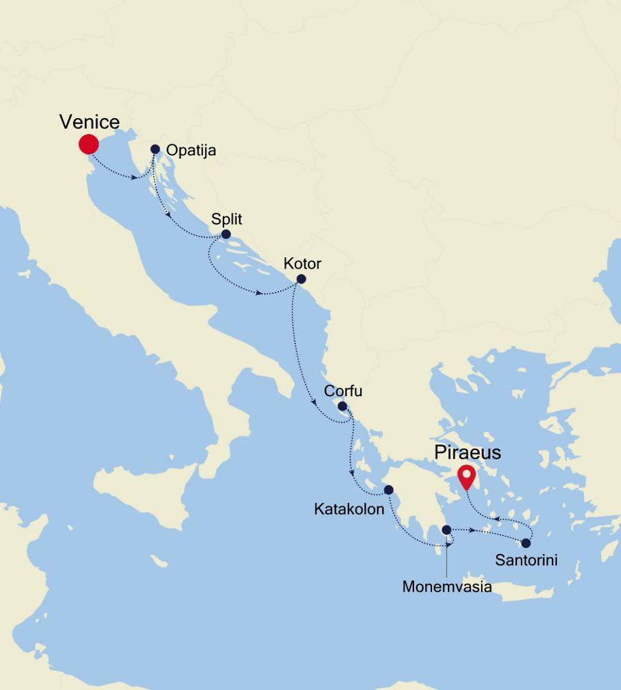 SS200717009 - Venice to Piraeus