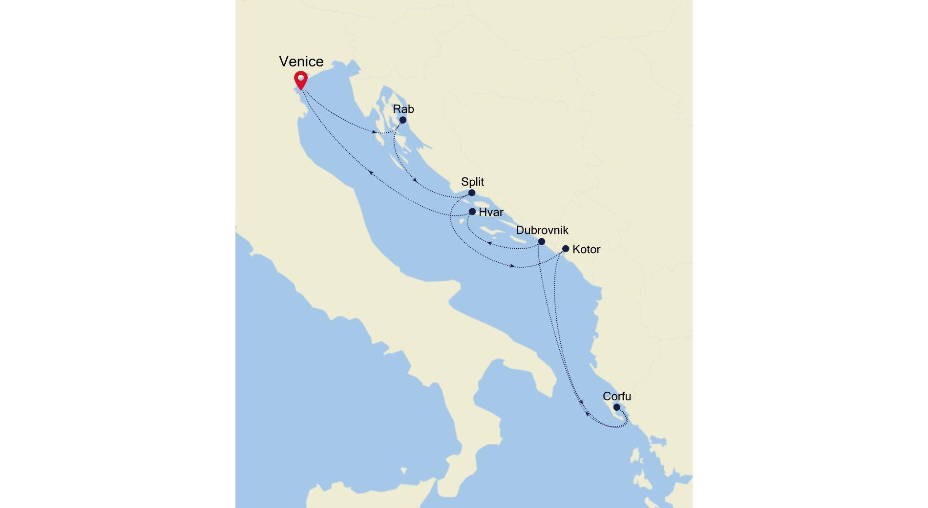 SS200814007 - Venice to Venice