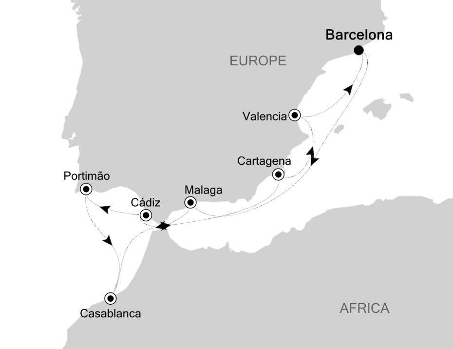 SS200914010 - Barcelona a Barcelona