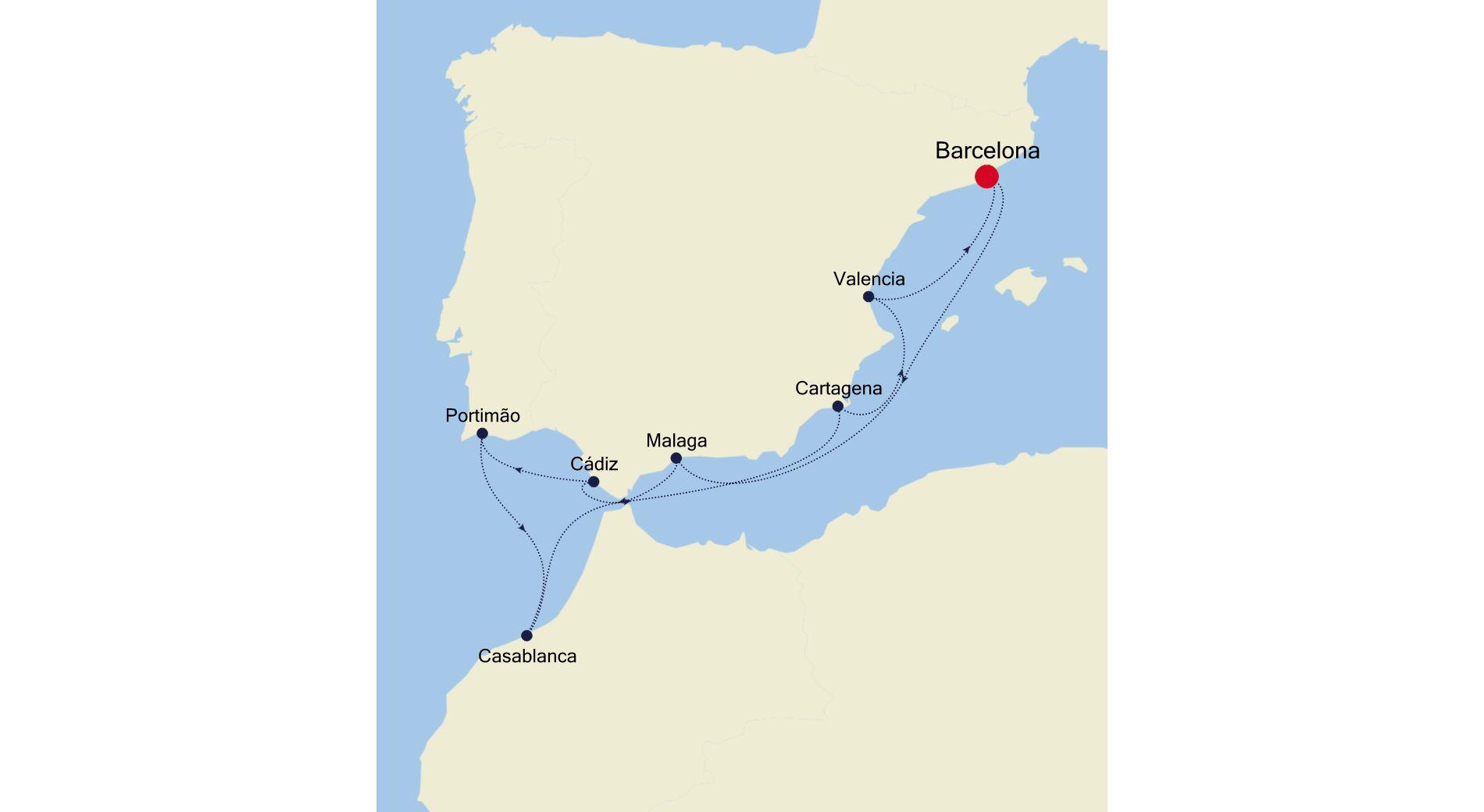 SS200914010 - Barcelona nach Barcelona
