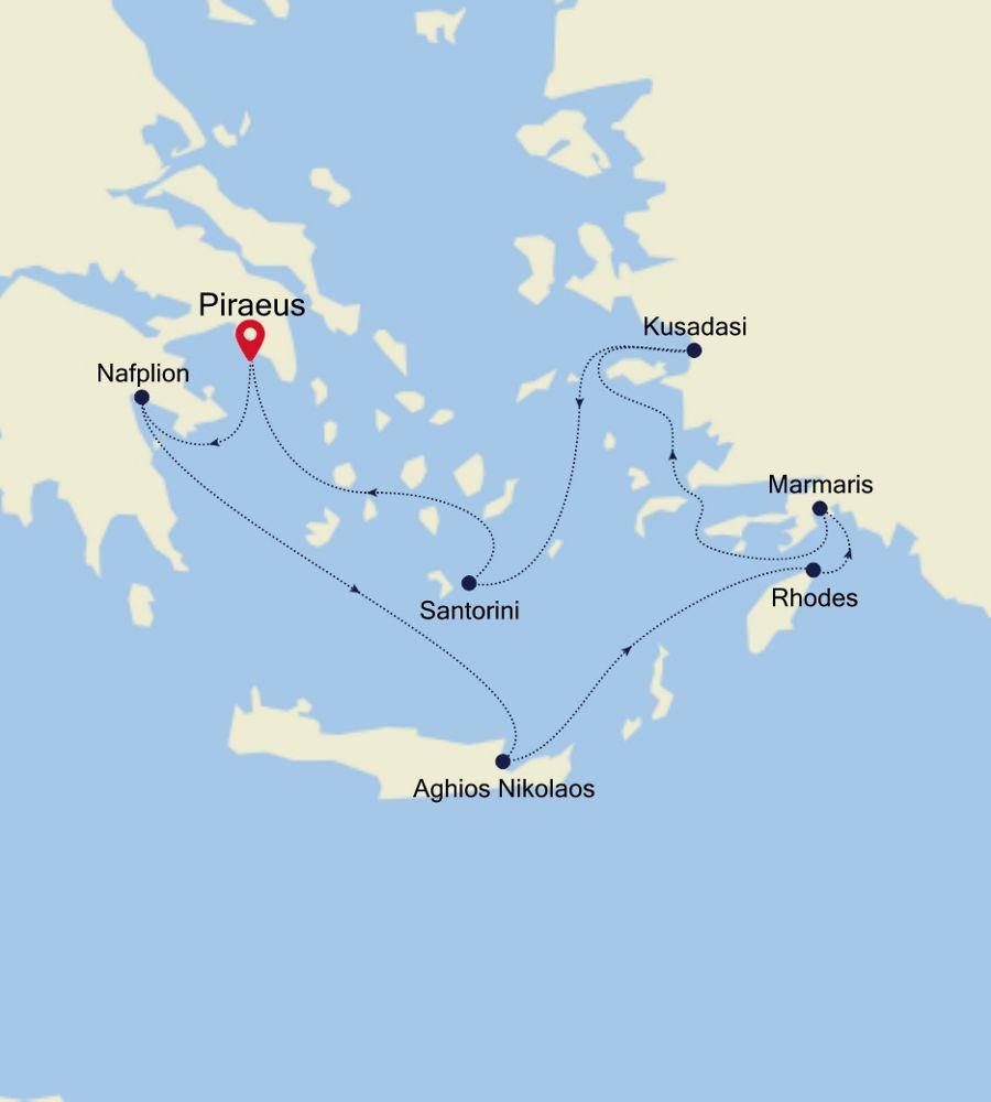 SS201012007 - Piraeus to Piraeus
