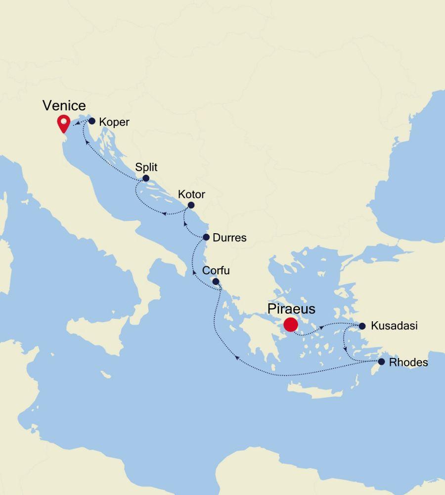 SS201019010 - Piraeus a Venice