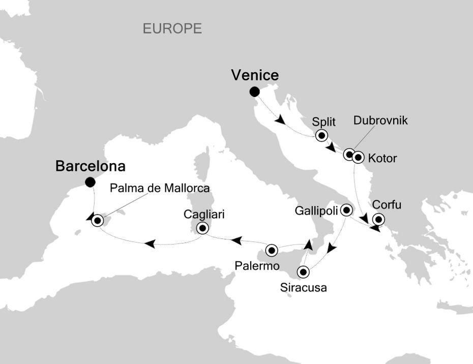 SS201029012 - Venice a Barcelona