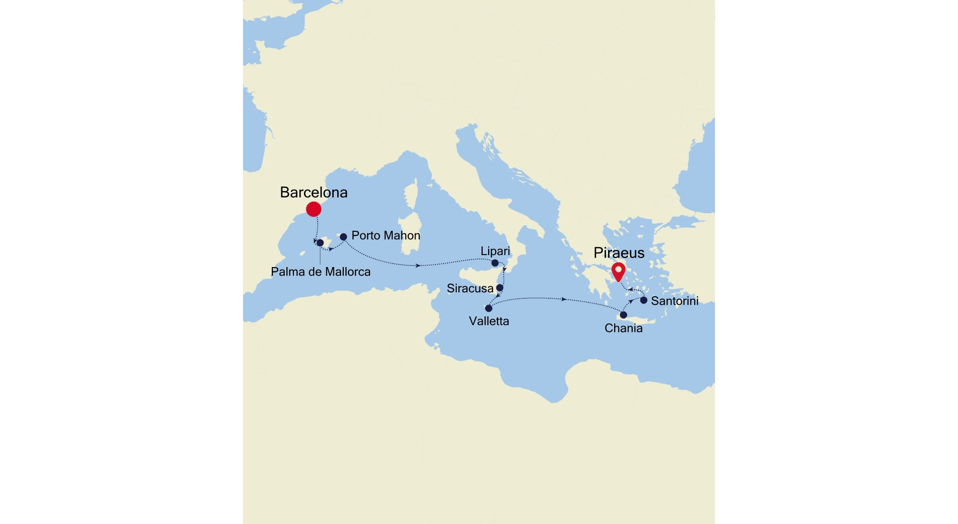 SS210607010 - Barcelona to Athens