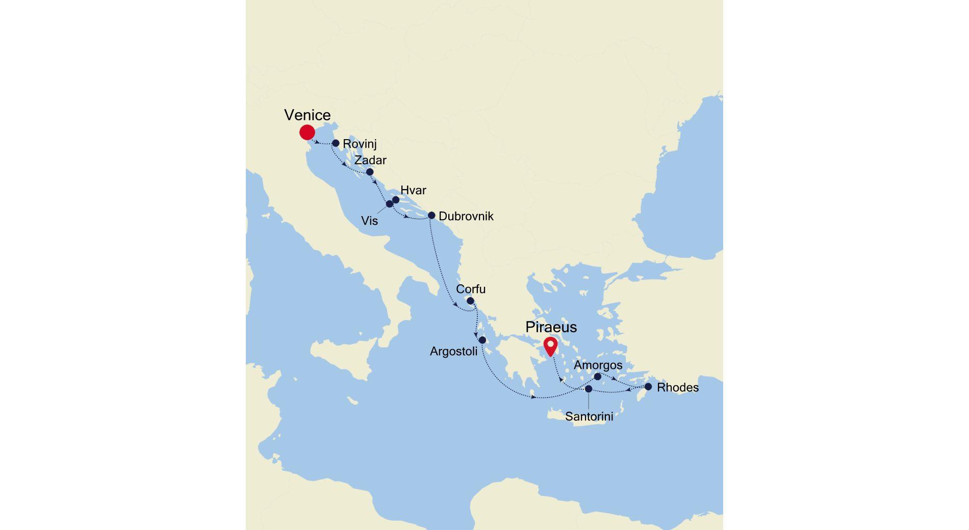 SS210806010 - Venice to Piraeus