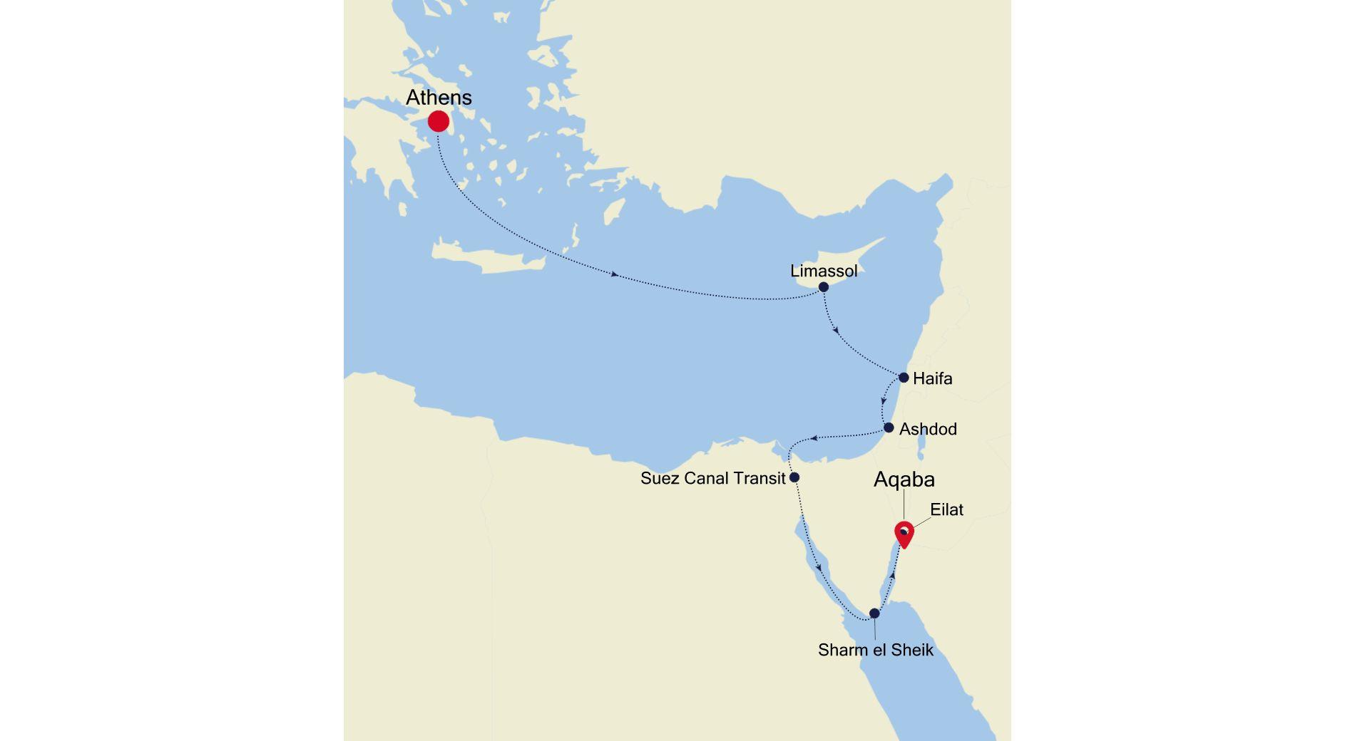 SS211124010 - Athens nach Aqaba